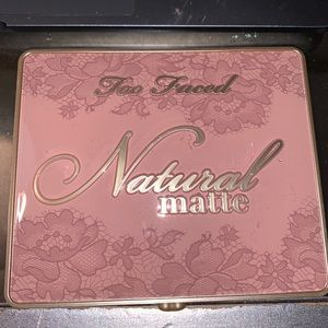 Natural matte too faced eyeshadow palette new